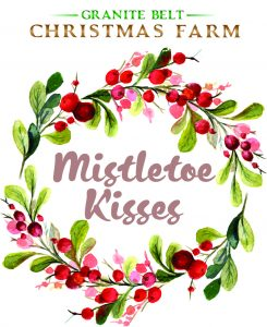Mistletoe Kisses Logo