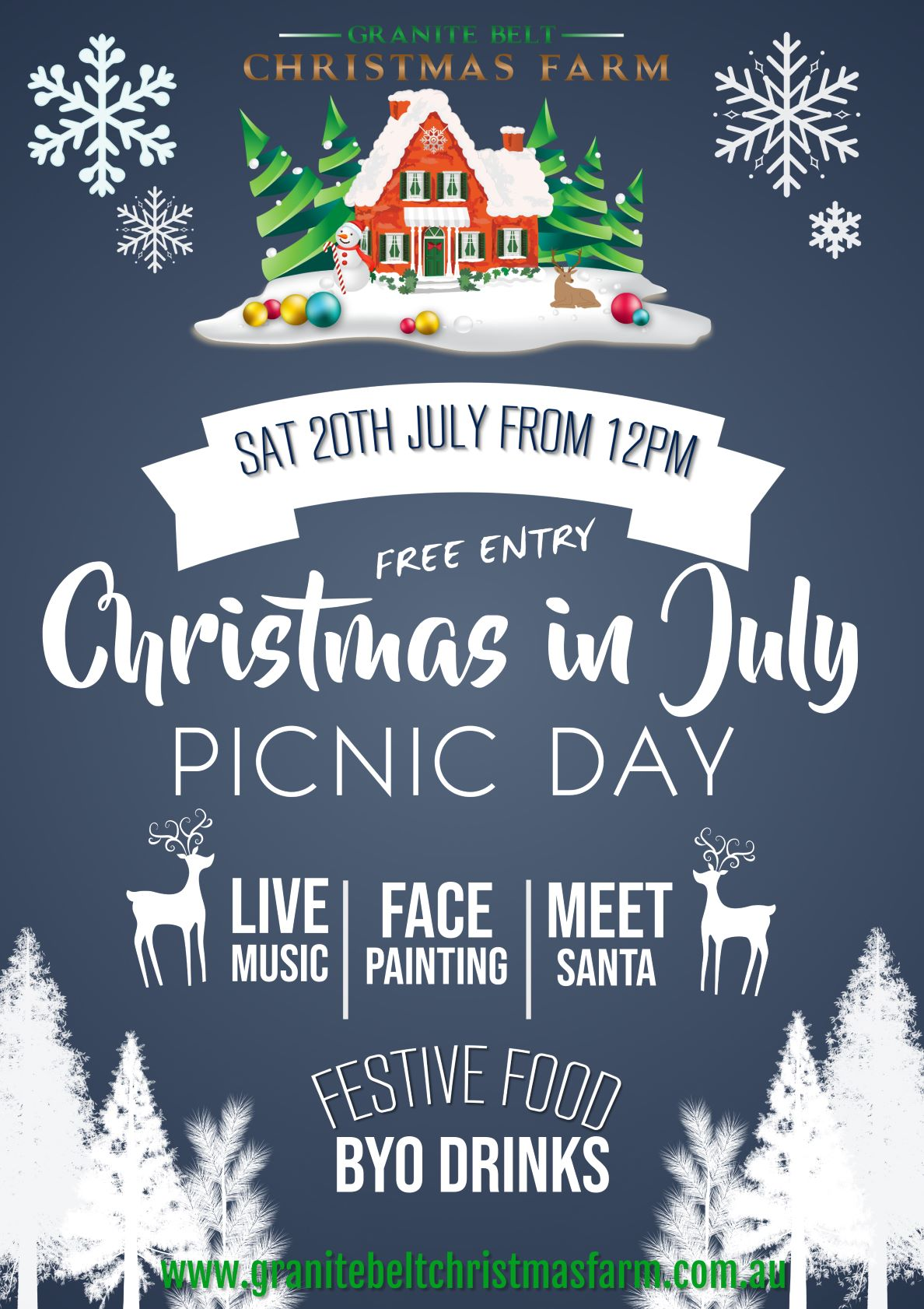 Christmas Day 2019.Christmas In July Picnic Day 2019 Web Granite Belt Christmas