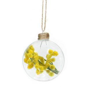 Glass Bauble Wattle