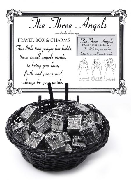 Three Little Angel Prayer Box